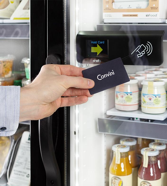So funktioniert der Convini-Kühlschrank